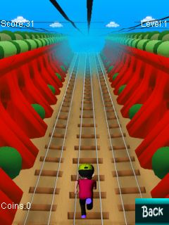 Download free game for mobile phone: Subway runner 2014 - download mobile games for free.