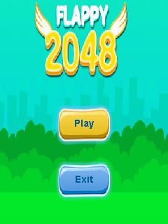 Download free mobile game: Flappy 2048 - download free games for mobile phone.