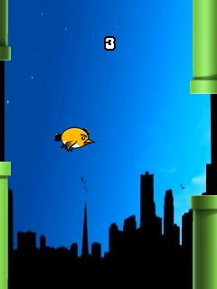 Download free game for mobile phone: Flappy Bird HD - download mobile games for free.