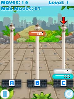 Download free mobile game: Tower Problem - download free games for mobile phone.