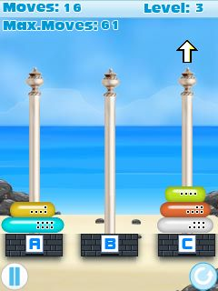 Download free game for mobile phone: Tower Problem - download mobile games for free.