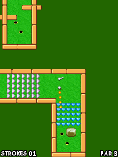 Mobile game Pocket Golf - screenshots. Gameplay Pocket Golf.