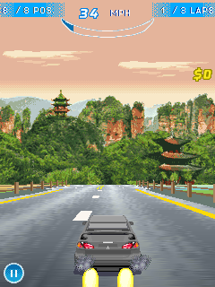 Download free game for mobile phone: Asphalt Nitro - download mobile games for free.