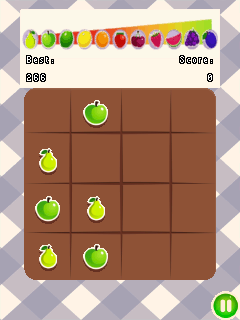 Download free mobile game: 2048: Fruits - download free games for mobile phone.