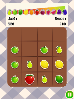 Download free game for mobile phone: 2048: Fruits - download mobile games for free.