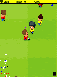 Super Pocket Football 2015手机游戏- 截图。Super Pocket Football 2015游戏。