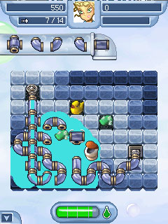 Jeu mobile Manie de tubes 2 - captures d'écran. Gameplay Pipe Mania 2.