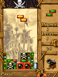 Download free mobile game: Pirates Fortune - download free games for mobile phone.