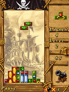 Download free game for mobile phone: Pirates Fortune - download mobile games for free.