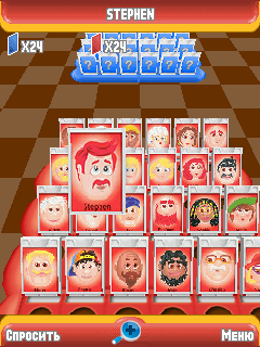 Jeu mobile Devinez qui 3D - captures d'écran. Gameplay Guess Who 3D.