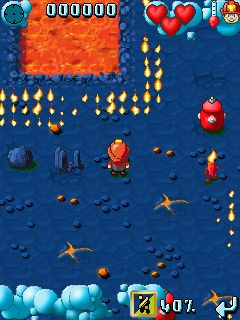 Mobile game Little Firefighter - screenshots. Gameplay Little Firefighter.