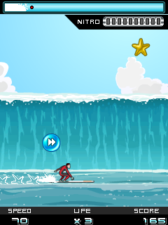 Mobile game Surf Rider - screenshots. Gameplay Surf Rider.