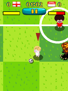 Download free mobile game: Rio: Super Soccer  - download free games for mobile phone.