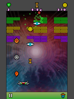 Download free game for mobile phone: Neon Breaker - download mobile games for free.