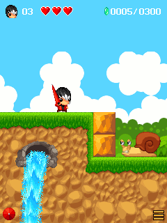 Mobile game Mojo Adventure - screenshots. Gameplay Mojo Adventure.