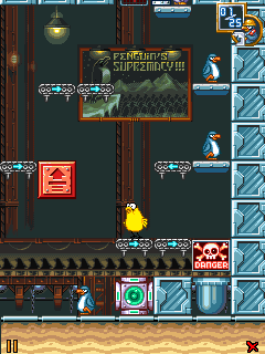 Mobile game The Penguin Menace: Reloaded - screenshots. Gameplay The Penguin Menace: Reloaded.