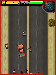 Download free mobile game: Car Racing: Zombie Killer  - download free games for mobile phone.