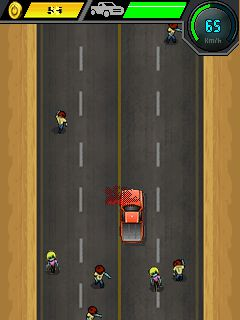 Download free game for mobile phone: Car Racing: Zombie Killer  - download mobile games for free.