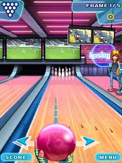 Download free mobile game: Lets Go Bowling - download free games for mobile phone.