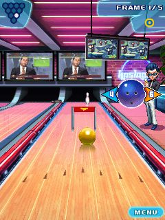 Mobile game Lets Go Bowling - screenshots. Gameplay Lets Go Bowling.