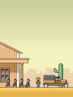 Download free mobile game: Save The Sheriff - download free games for mobile phone.