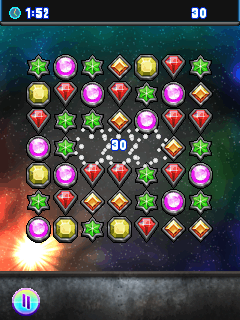 Jeu mobile Bijou infini 2 - captures d'écran. Gameplay Infinity Jewel 2.