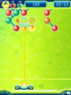 Mobile game Molecules - screenshots. Gameplay Molecules.