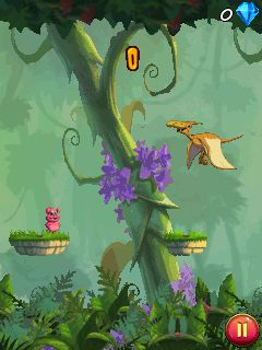 Download free mobile game: Jurassic Pork - download free games for mobile phone.