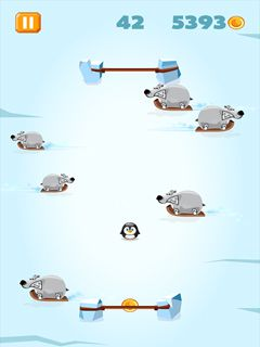 Download free mobile game: Polar Pong - download free games for mobile phone.