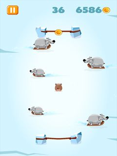 Download free game for mobile phone: Polar Pong - download mobile games for free.