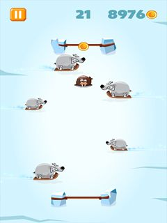 Mobile game Polar Pong - screenshots. Gameplay Polar Pong.