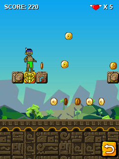 Download free game for mobile phone: Bheem World - download mobile games for free.