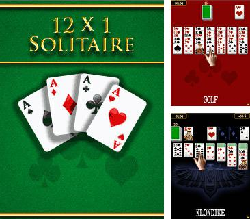 Download free mobile game: 12x1 Solitaire - download free games for mobile phone.