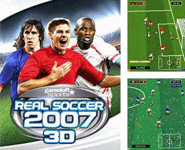 In addition to the game Popular solitaires for mobile phone, you can download mobile game 2007 Real football 3D for free.