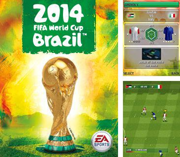 In addition to the game Dirt bike rally for mobile phone, you can download mobile game 2014: FIFA World cup Brazil for free.