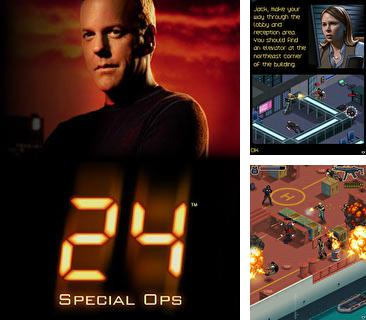 In addition to the game Sехy solitaire for mobile phone, you can download mobile game 24 Secial Ops: Jack Bauer for free.
