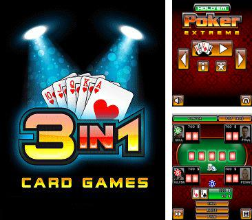 Download free mobile game: 3 in 1 Card Games - download free games for mobile phone.
