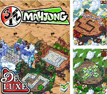 Download free mobile game: 3 in 1 Mahjong Deluxe - download free games for mobile phone.