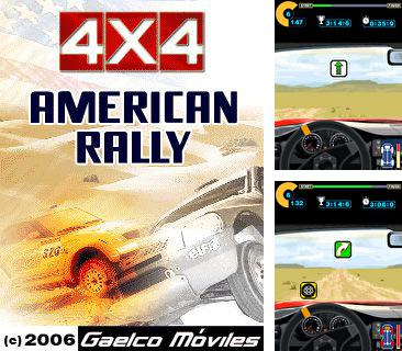 Download free mobile game: 4x4 American Rally - download free games for mobile phone.