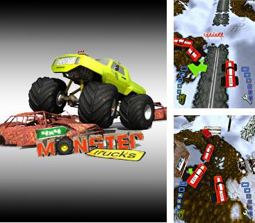 Download free mobile game: 4x4 Monster Trucks 3D - download free games for mobile phone.