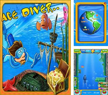 In addition to the game Slot machine mania for mobile phone, you can download mobile game Ace diver for free.