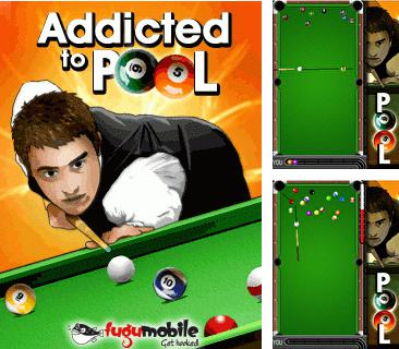 Download free mobile game: Addicted to pool - download free games for mobile phone.