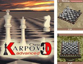 In addition to the game Bad girl: Dirty Dance for mobile phone, you can download mobile game Advanced Karpov 3D Chess for free.