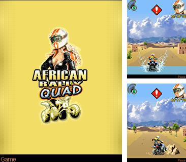Download free mobile game: African Rally Quad - download free games for mobile phone.