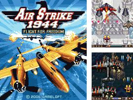 In addition to the game Girls Gone Wild for mobile phone, you can download mobile game Air Strike 1944 for free.