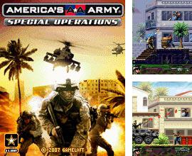 In addition to the game Krazy kart riders for mobile phone, you can download mobile game America's Army: Special Operations for free.