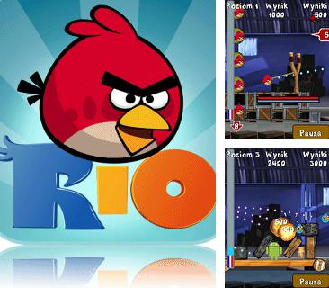Download free mobile game: Angry Birds Rio - download free games for mobile phone.