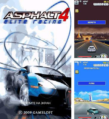 In addition to the game Dirt bike rally for mobile phone, you can download mobile game Asphalt 4: Elite Racing for free.