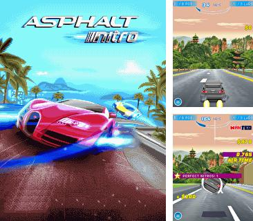 In addition to the game Bang balloons for mobile phone, you can download mobile game Asphalt Nitro for free.
