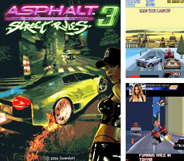 In addition to the game The Witcher for mobile phone, you can download mobile game Asphalt: Street Rules 3 for free.